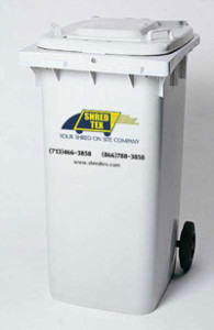 Commercial Shredding Houston - Bin