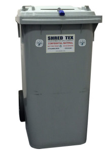 96 Gallon Mobil Security Bin