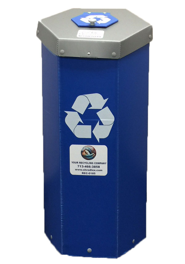 Recycling Bin - ShredTex Houston