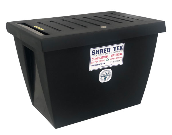 Personal Document Container - ShredTex Houston